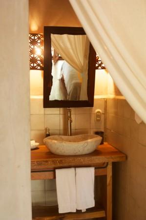 Bathroom and Mirror