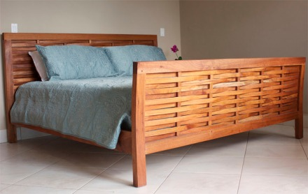 Woven King Bed